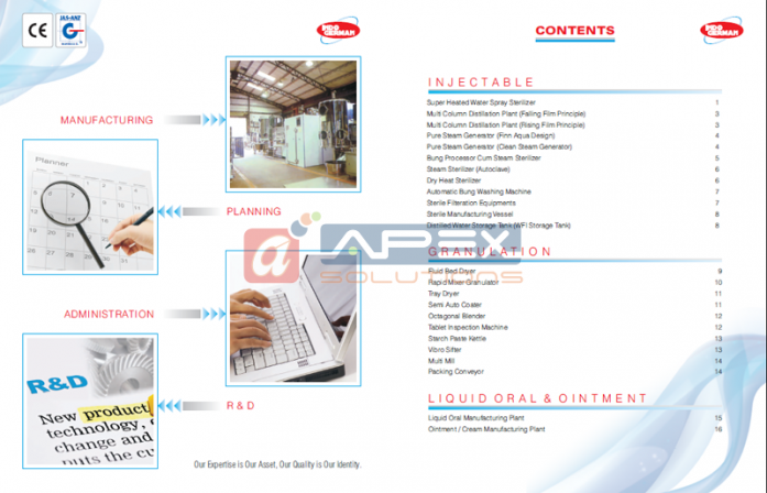 IGPE Catalog - Content Page