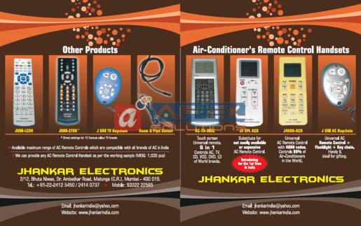 JE - Remote Control Catalog