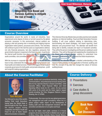Masterclass Corp. Brochure - Sub.: Internal Audit