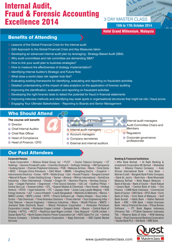 Masterclass Corp. Brochure - Sub.: Internal Audit