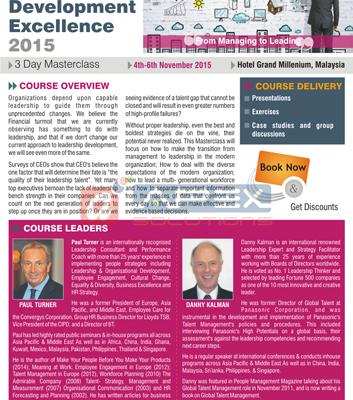 Masterclass Corp. Brochure - Sub.: Leadership
