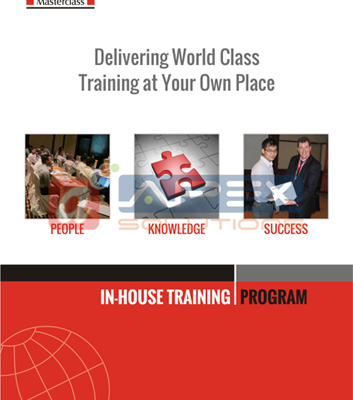 Corporate Catalog for Inhouse Training