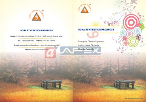 Sona Chrome - Corporate Folder - Cover & Back